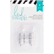 White - Heidi Swapp Paper Lantern Lights 2/Pkg