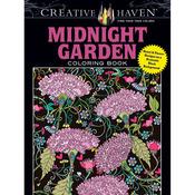 Creative Haven Midnight Garden - Dover Publications