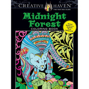 Creative Haven Midnight Forest - Dover Publications