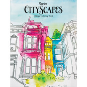 CityScapes - Darice Coloring Book