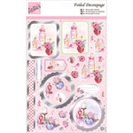 Perfume Bottles - Anita's A4 Foiled Decoupage Sheet