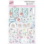 18th Birthday - Anita's A4 Foiled Decoupage Sheet