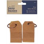 Papermania Bare Basics Ring Memo Blocks 2/Pkg