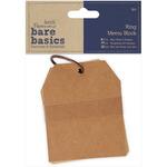 Papermania Bare Basics Ring Memo Block