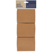 Papermania Bare Basics Large Matchboxes 3/Pkg