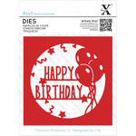 Happy Birthday Topper - Xcut Decorative Die