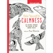 Color Yourself To Calmness Postcards - Cico Books