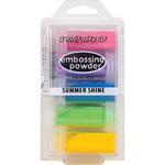 Summer Shine - Stampendous Embossing Powder 5/Pkg .86oz