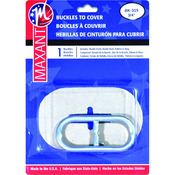 """.75"""" Oval - Buckle Cover Kit"""