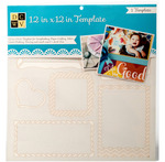 """Snapshot - Diecuts With A View Templates 12""""X12"""""""
