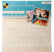 """Borders - Diecuts With A View Templates 12""""X12"""""""