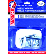""".75"""" Rectangle - Buckle Cover Kit"""
