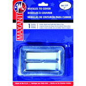 """2"""" Rectangle - Buckle Cover Kit"""
