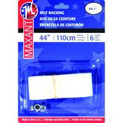 """White - Belting Kit 1""""X44"""""""