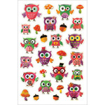"""Life's A Whoot - Foil Fun Stickers 5.5""""X8.25"""" Sheet"""