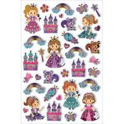 "Fairytale - Foil Fun Stickers 5.5""X8.25"" Sheet"