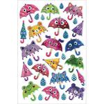 "Umbrella - Foil Fun Stickers 5.5""X8.25"" Sheet"