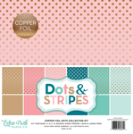 Copper Foil Collection Kit - Dots & Stripes Foiled - Echo Park