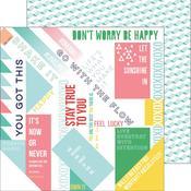 Happy Words Paper - Felicity - Pinkfresh