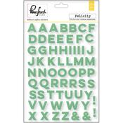 Felicity Vellum Alpha Stickers - Pinkfresh