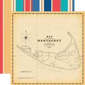 Nantucket Paper - Yacht Club - Carta Bella