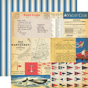 Yacht Cards Paper - Yacht Club - Carta Bella