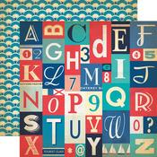 Alphabet Letters Paper - Yacht Club - Carta Bella