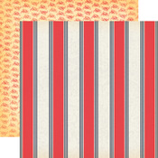 Nautical Stripe Paper - Yacht Club - Carta Bella