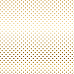 Gold Dot Vellum Sheet - Dots & Stripes - Carta Bella