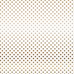 Copper Dot Vellum Sheet - Dots & Stripes - Carta Bella