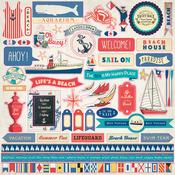 Yacht Club Sticker Sheet - Carta Bella
