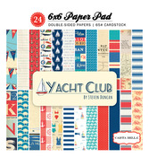 Yacht Club 6 x 6 Paper Pad - Carta Bella