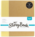 Solid Yellow 6 x 8 Photo Journal - My Storybook - Echo Park