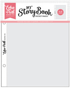 """My Story Book Album Pocket Pages 6""""X8"""" 10/Pkg, Single Opening - Echo Park"""