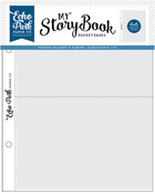 "My Story Book Album Pocket Pages 6""X8"" 10/Pkg, 4""X6"" Openings - Echo Park"