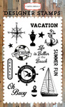 Sea Breeze Stamp Set - Carta Bella