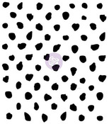 Offset Dots Clear Stamp - Finnabair - Prima