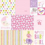 Daily Details Paper - Sweet Baby Girl - Bella Blvd