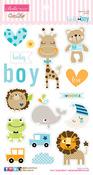 Cute Baby Boy Chipboard Icons - Bella Blvd