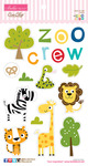 The Zoo Crew Chipboard Icons - Bella Blvd