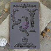 Vintage Baroque 5 Mould - IOD Art Decor - Prima