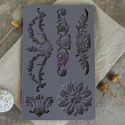 Vintage Baroque 3 Mould - IOD Art Decor - Prima