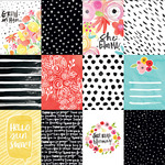 3 x 4s Paper - She Blooms - Illustrated Faith
