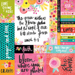 Art Prints Paper - She Blooms - Illustrated Faith