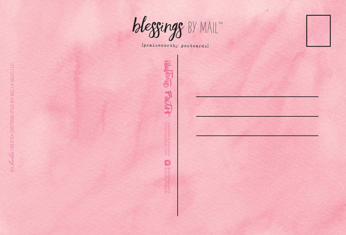 Blessings By Mail Postcard Set - She Blooms - Illustrated Faith