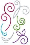 Scrolls 4 Stick Ems - Queen & Co