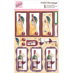 Cricket & A Tipple - Anita's A4 Foiled Decoupage Sheet