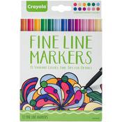 Contemporary - Crayola Fine Line Marker Set 12/Pkg