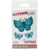 "Kayla Butterfly, 2.1""X1.4"" - CottageCutz Die"