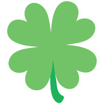 Shamrock - Pot O'Gold Mini Icons Stickers 100/Roll
